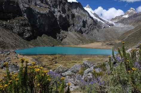 Marche dans la vallée Rasac - Pérou -