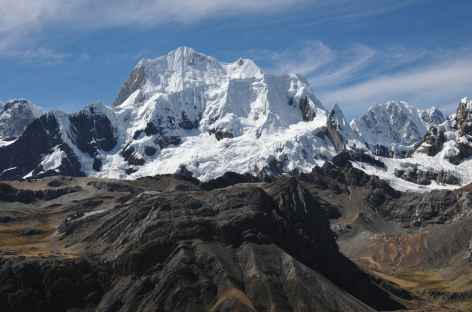 Entre le col Yausha Punta et la lagune Jahuacocha - Pérou -