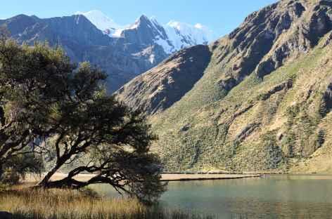 Sur les bords de la lagune Solteracocha - Pérou -