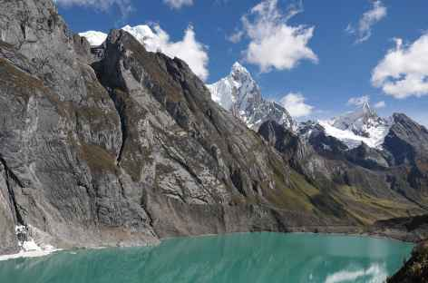Lagunes dans la vallée de Siula - Pérou -