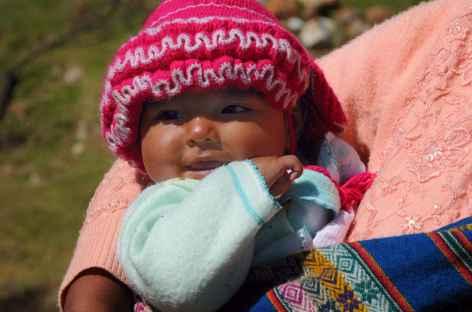 Rencontre avec les villageois de la cordillère Blanche - Pérou -