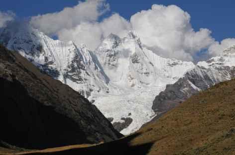 Vue sur le Jirishanca - Pérou -