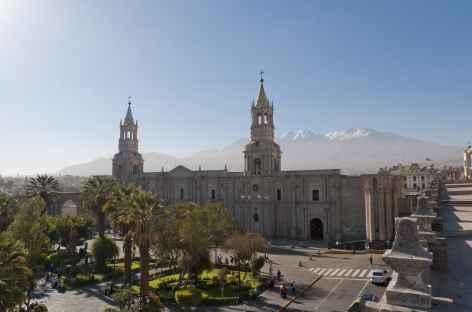 Arequipa et le volcan Misti - Pérou -
