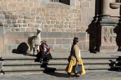 Scène de vie à Cusco - Pérou -
