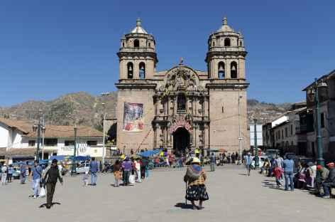 La place d'armes de Cusco - Pérou -
