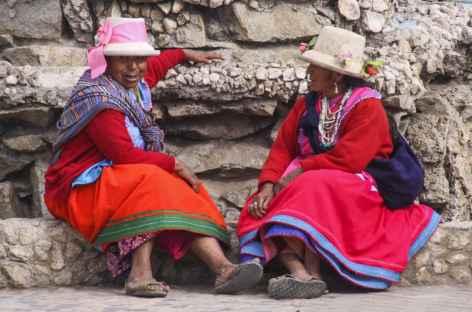 Rencontre sur le marché de Carhuaz - Pérou -