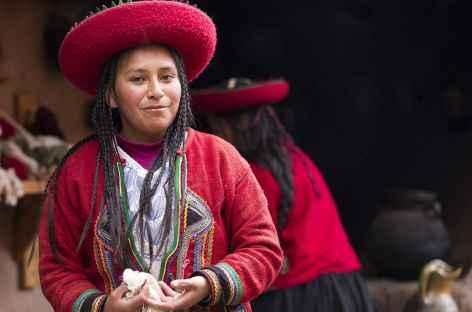 Rencontre avec une tisserande - Pérou -
