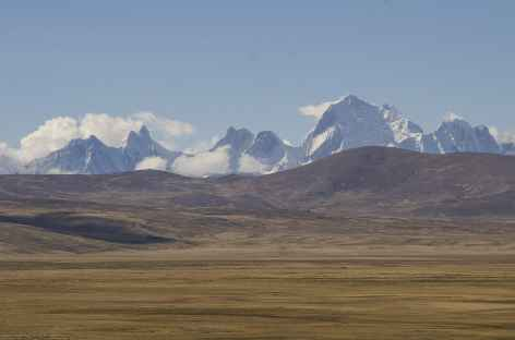Vue sur la Cordillère Huayhuash depuis le col Conococha - Pérou -