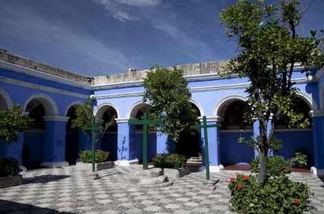 Le couvent Santa Catalina à Arequipa - Pérou -