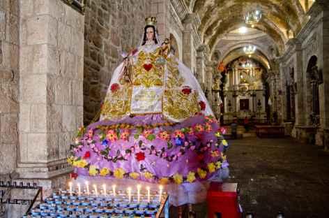 L'église d'Andahuaylillas - Pérou -