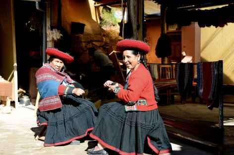Tissage traditionnel à Chinchero - Pérou -