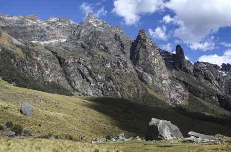 Dans la quebrada Huaripampa -