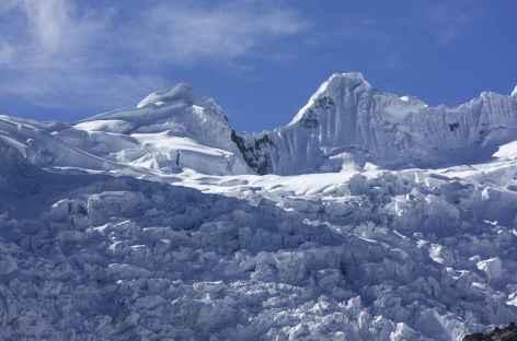 Le mur glaciaire du Jancarurish et Tayapampa -