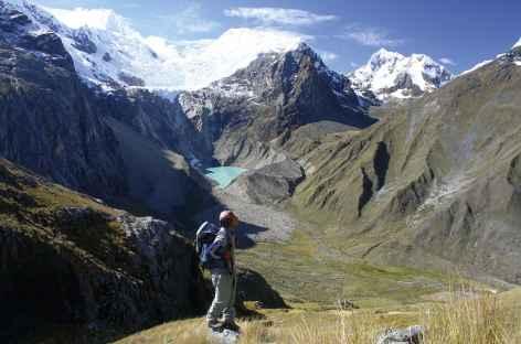 Vue du col Gara Gara - Pérou -