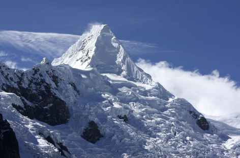 La face sud-ouest de l'Alpamayo - Pérou -
