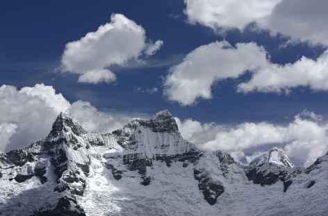 Vue sur les Chacraraju - Pérou -