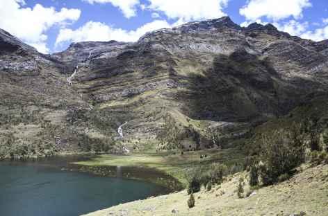 A l'approche de la lagune Huecrucocha -