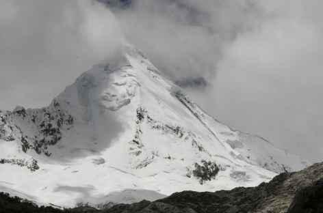 La magnifique pyramide glaciaire de l'Artesonraju -