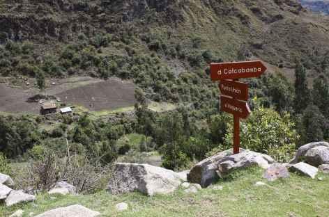 Fin du trek à Colcabamba  -