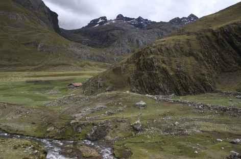 Une ferme isolée dans la quebrada de Mayobamba -