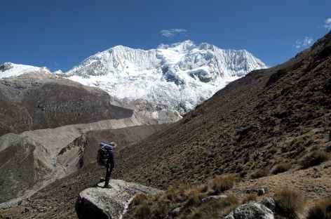 Montée au col Choco (5080 m) - Pérou -
