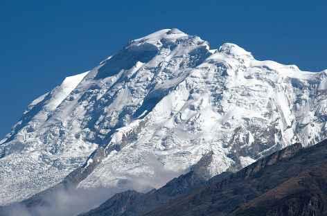 Vue sur le Huascaran depuis Honkopampa - Pérou -