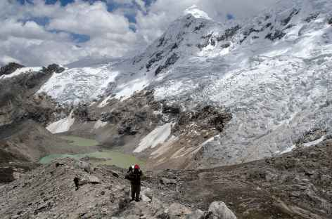 Montée au Col Palcaraju (5250 m) - Pérou -