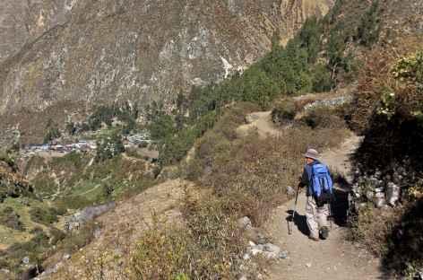 Arrivée sur le village de Huallapa - Pérou -