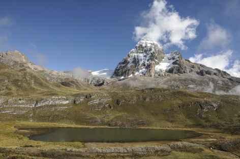 En montant au col Trapecio - Pérou -
