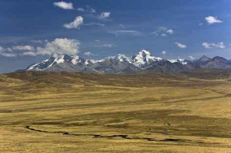 Première vue sur la Cordillère Blanche depuis le col Conococha - Pérou -