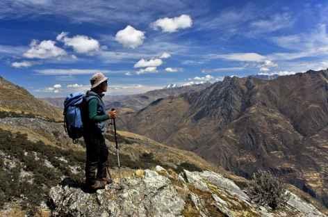 Fin du trek dans la Cordillère Huayhuash - Pérou -