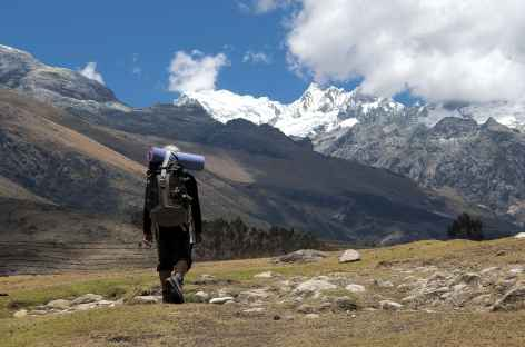 Départ pour la Haute Route de la Cordillère Blanche - Pérou -