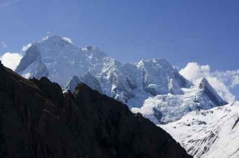 Dernière vision sur les hauts sommets de la Huayhuash depuis le col Mancan Punta - Pérou -