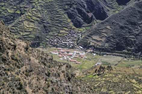 Vue sur Pocpa depuis le col Mancan Punta - Pérou -