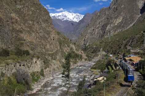 Le train entre Aguas Calientes et Ollantaytambo - Pérou -