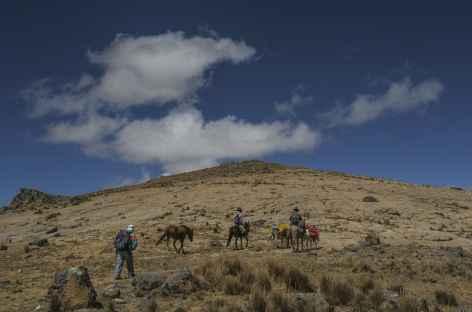 Sur les hauteurs de la Cordillère Noire - Pérou -