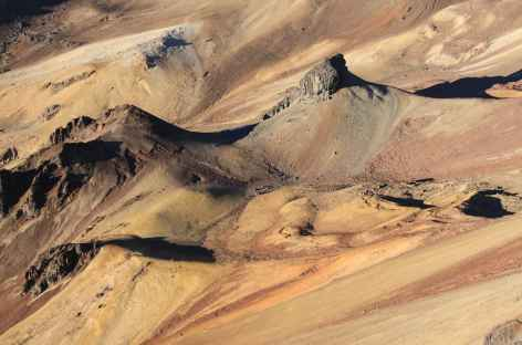 Paysage lunaire lors de l'ascension du Mismi - Pérou -