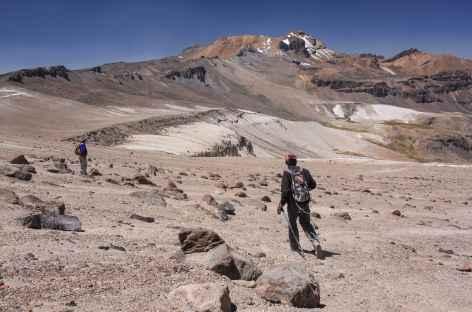 Paysage lunaire vers Carhuasanta - Pérou -