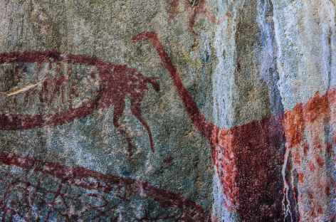 Les peintures rupestres de Cuchimachay - Pérou -