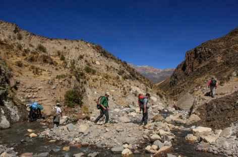 Au départ de Lari - Pérou -