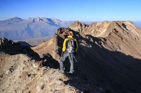 Sur la crête du Mismi - Pérou -
