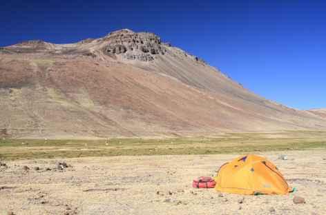 Campement à Confluencia - Pérou -