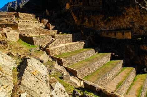 le site inca d'Ollantaytambo - Pérou -