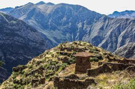 Vallée du rio Canete, site de Huaquis - Pérou -