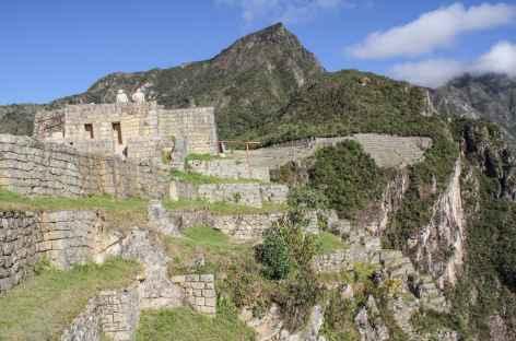 Sur le site du Machu Picchu - Pérou -