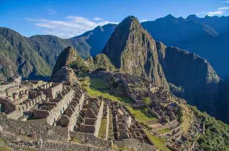 Plein cadre sur le Machu Picchu - Pérou -