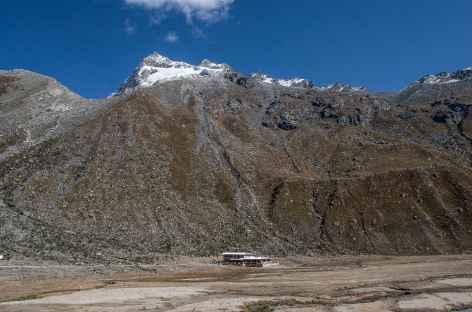 Le refuge Ishinca au pied du Nevado Urus - Pérou -