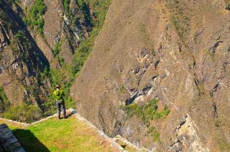 Les vertigineuses terrasse de Choquequirao - Pérou -