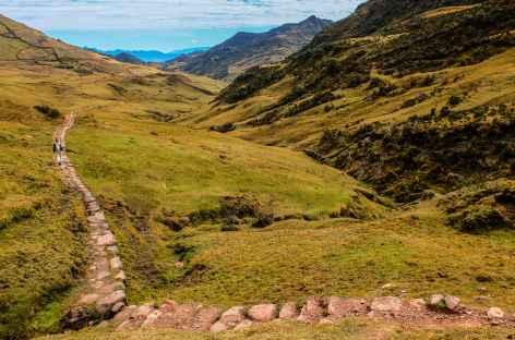 Descente du col Choquetacarpo - Pérou -