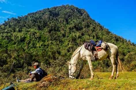 Dernier col du trek, le col Ccolpa à 3850 m - Pérou -